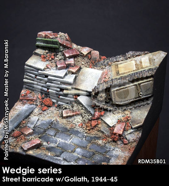 Wedgie Series: Street Barricade  w/Goliath, 1944-45
