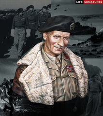 Bernard Law Montgomery General, C-in-C, 21st Army Group June 1944, Operation Overlord