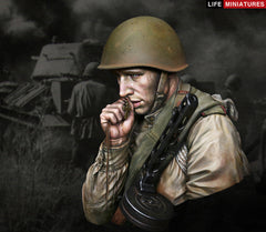 On the Edge Of No Man's Land: WW2 Young Red Army Infantryman, July 1943, Battle of Kursk