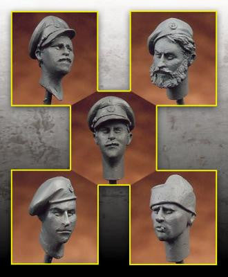 British 1/35 scale head set