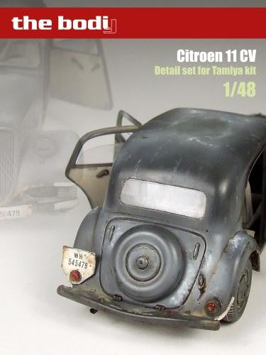 Detail set for Tamiya Citroen 11 CV