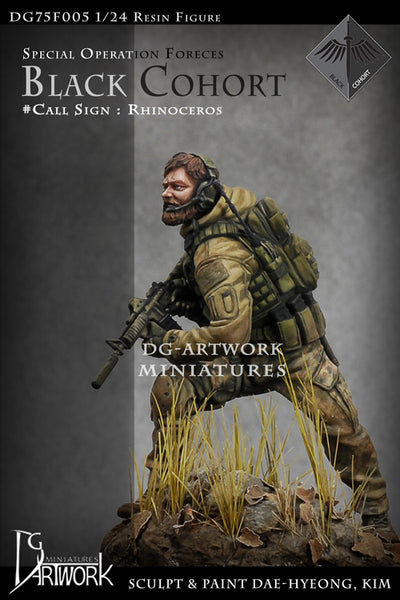 Black Cohort Callsign: Rhinoceros