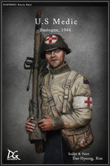 US Medic In Bastogne, 1944