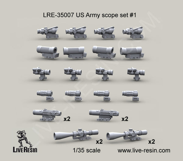 US Army Scope Set 1