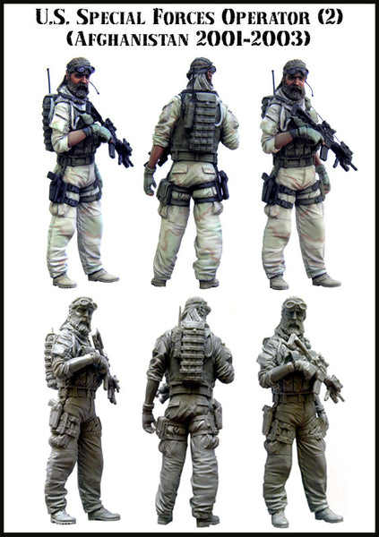 US Special Forces Operator, Set 2 (Afghanistan 2001-2003)