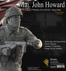Maj. John Howard 'D' Company, 2nd Battalion, OXF. & Bucks. -Pegasus Bridge