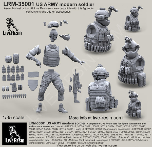 US Army Modern Soldier