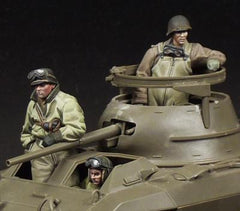 M8 Greyhound Crew (3 full figures)