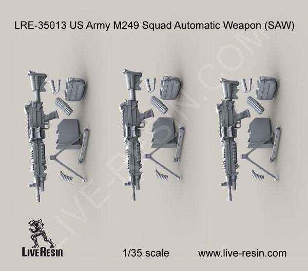LRE35013 US Army M249 Squad Automatic Weapon (SAW)