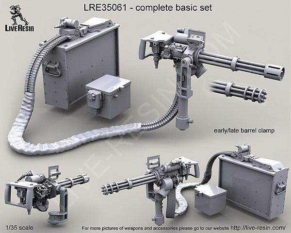 LRE35061 M134D Minigun on Vertical Arm Mount