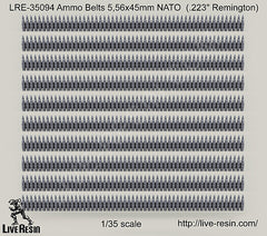 LRE35094 Ammo Belts 5.56mm NATO