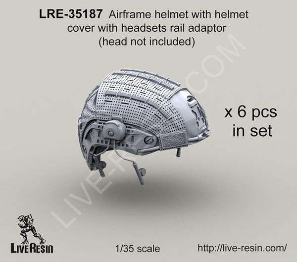 LRE35187 Airframe Helmet with Helmet Cover