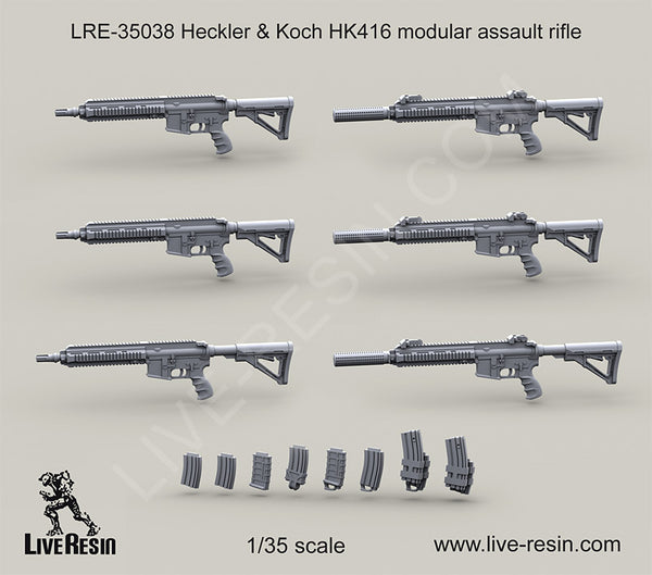LRE35038 H&K416 Modular assault rifle