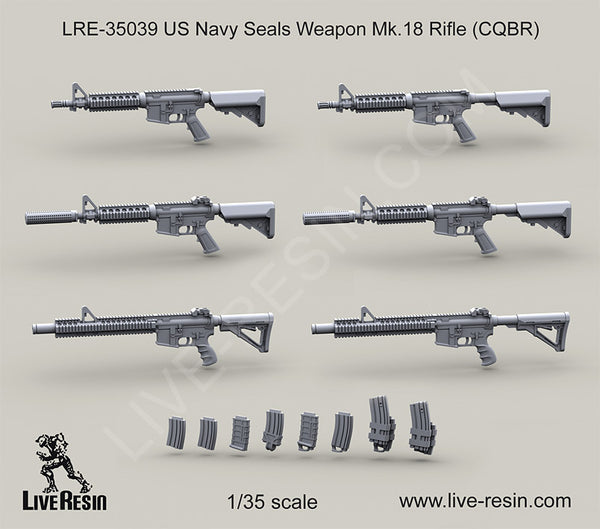 LRE35039 US Navy Seals Weapon Mk. 18 Rifle (CQBR)