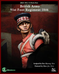British Army, 91st Foot Regiment 1846