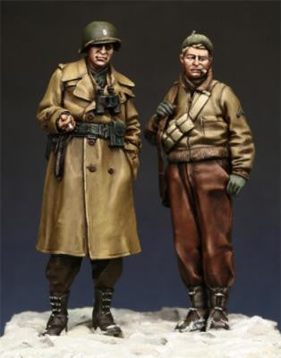 US Infantry Officer and NCO