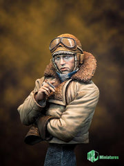 RFC Pilot in WW1