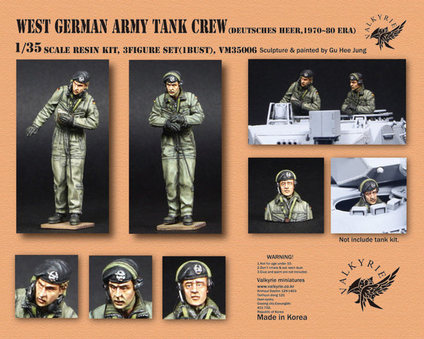 West German Army Tank Crew
