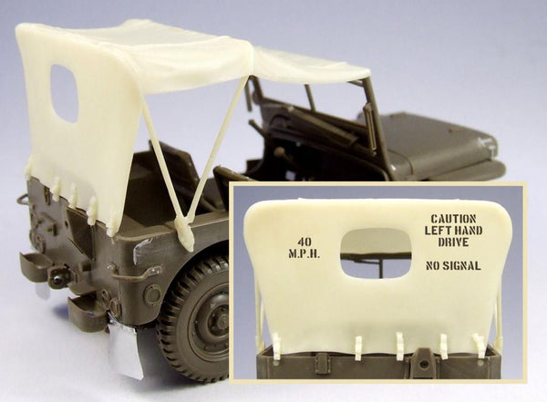 Willys Jeep set for Masking and Film