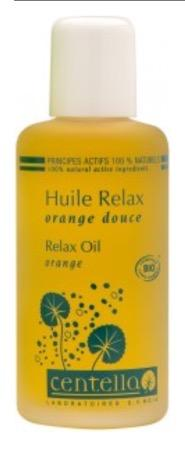 Centalla Relax 100% Organic Massage Oil (500 ml)