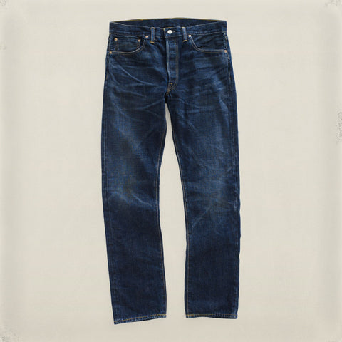 Slim Straight Helm-Wash Denim