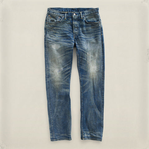 Slim-Fit Folsom Wash Denim