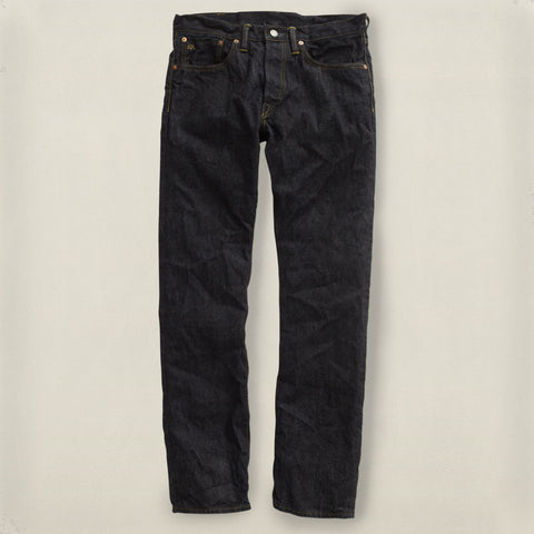 Slim Fit Once Washed Denim