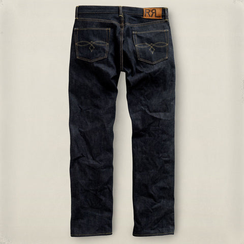 Low Straight Rigid Denim