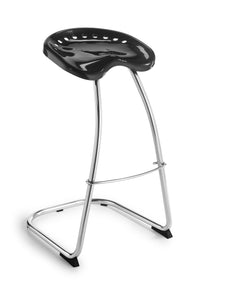 sgabello cromato stool chromed cantilever hocker freischwinger tabouret chrome