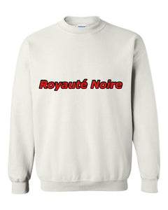 """Black Royalty"" 3D Crewneck"