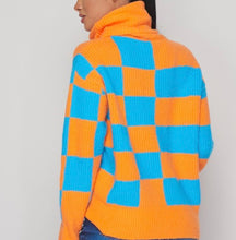 Load image into Gallery viewer, Exotic Checkers Sweater