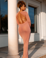 Load image into Gallery viewer, Grapefruit Slip Dress