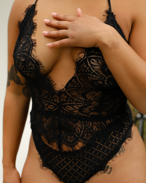 Load image into Gallery viewer, Waffle Lace Teddy