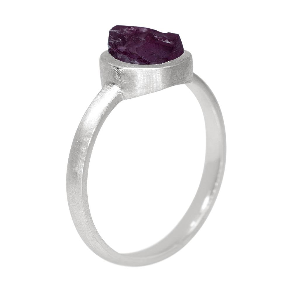 Garnet Stackable Ring