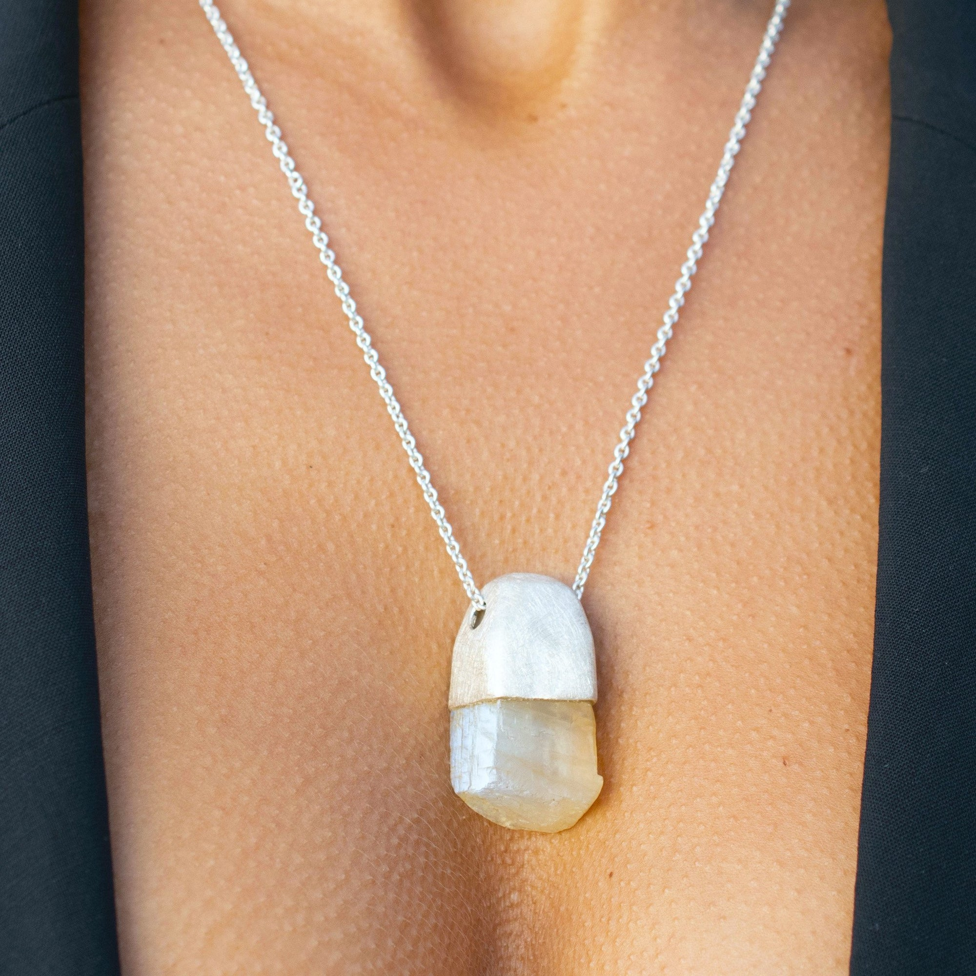 MAGNUM MOONSTONE PENDANT - One-of-a-kind