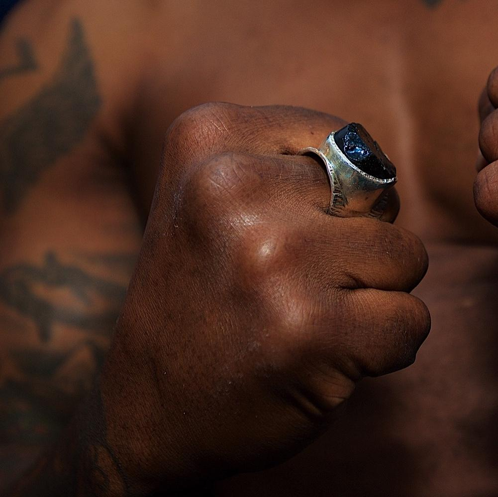 Men's 'Dark Horse' Macho Ring