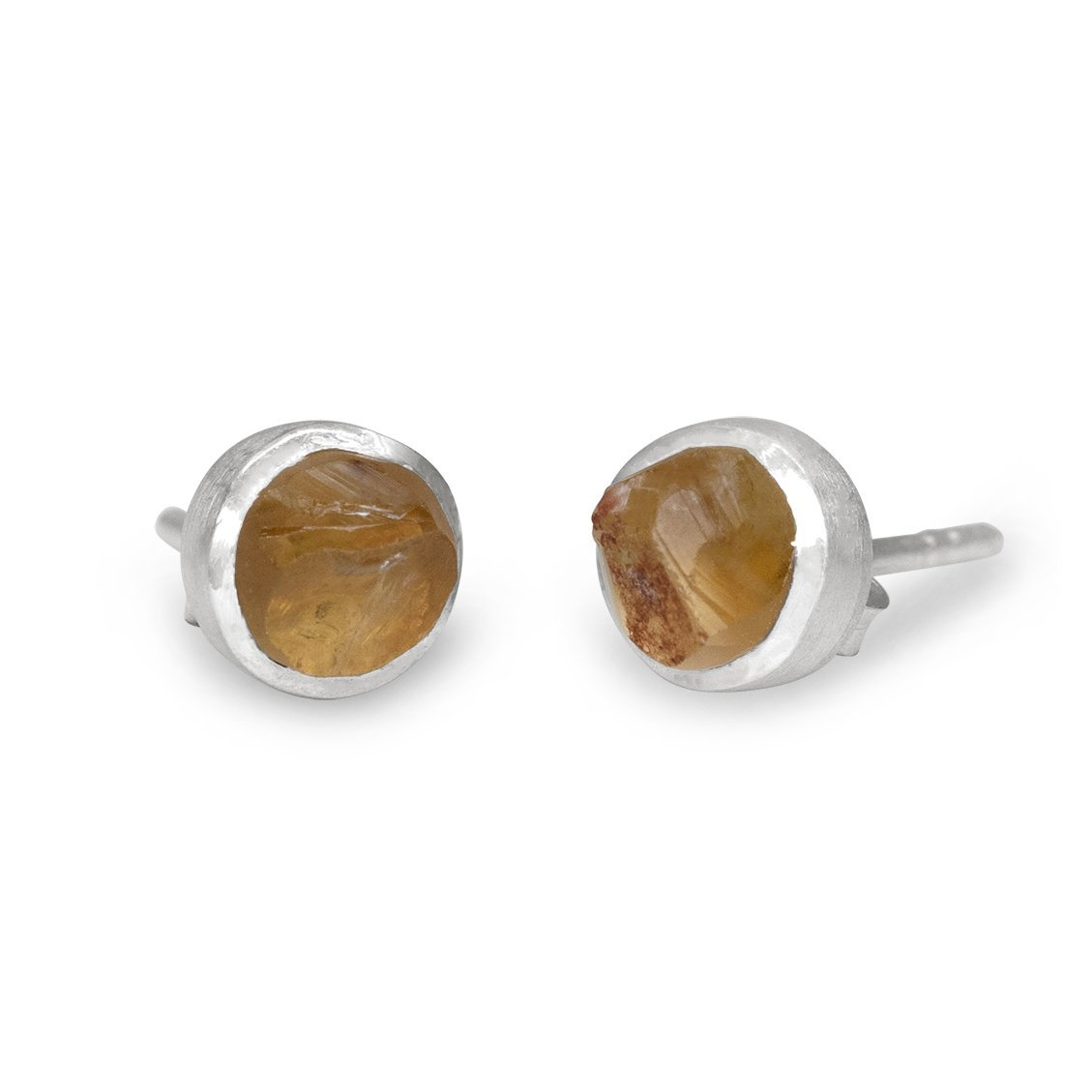 'Hustle' Citrine Mini Studs