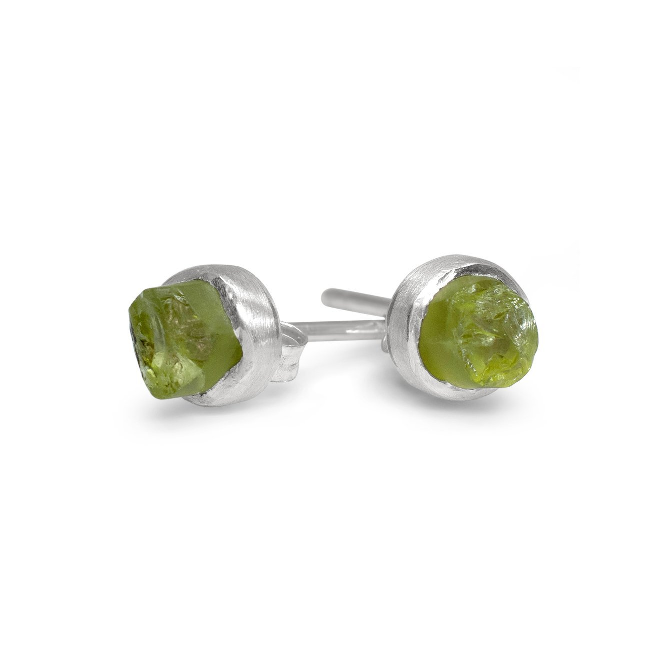 'Awaken' Peridot Mini Studs