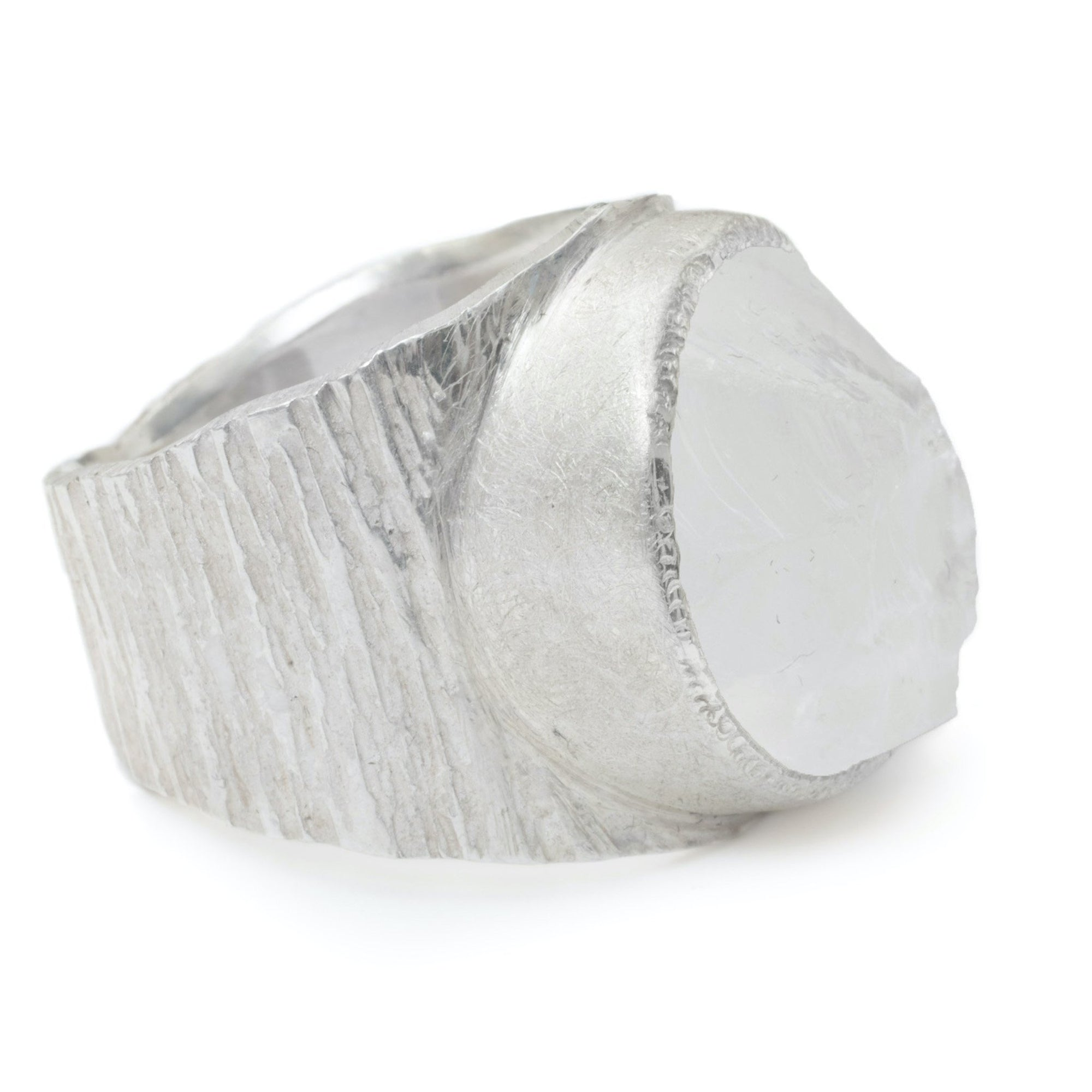 'Manifest' Clear Quartz Macho Ring
