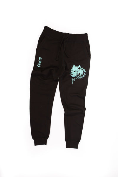 Black and Mint Sweats