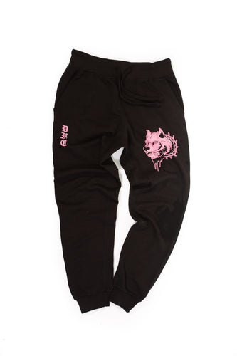 Black and Pink Sweats