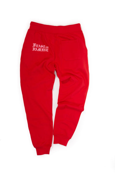 Red and Pink Sweats M
