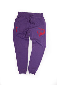 Purple and Red Sweats