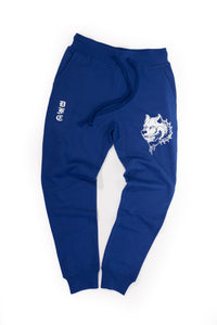 Blue and White Sweats