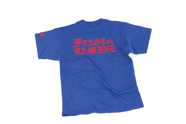 Blue and Red Tee L