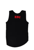 Black and Red Tank Crop