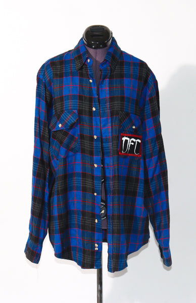The Royal Blue Flannel