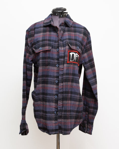 Red Stitched Flannel