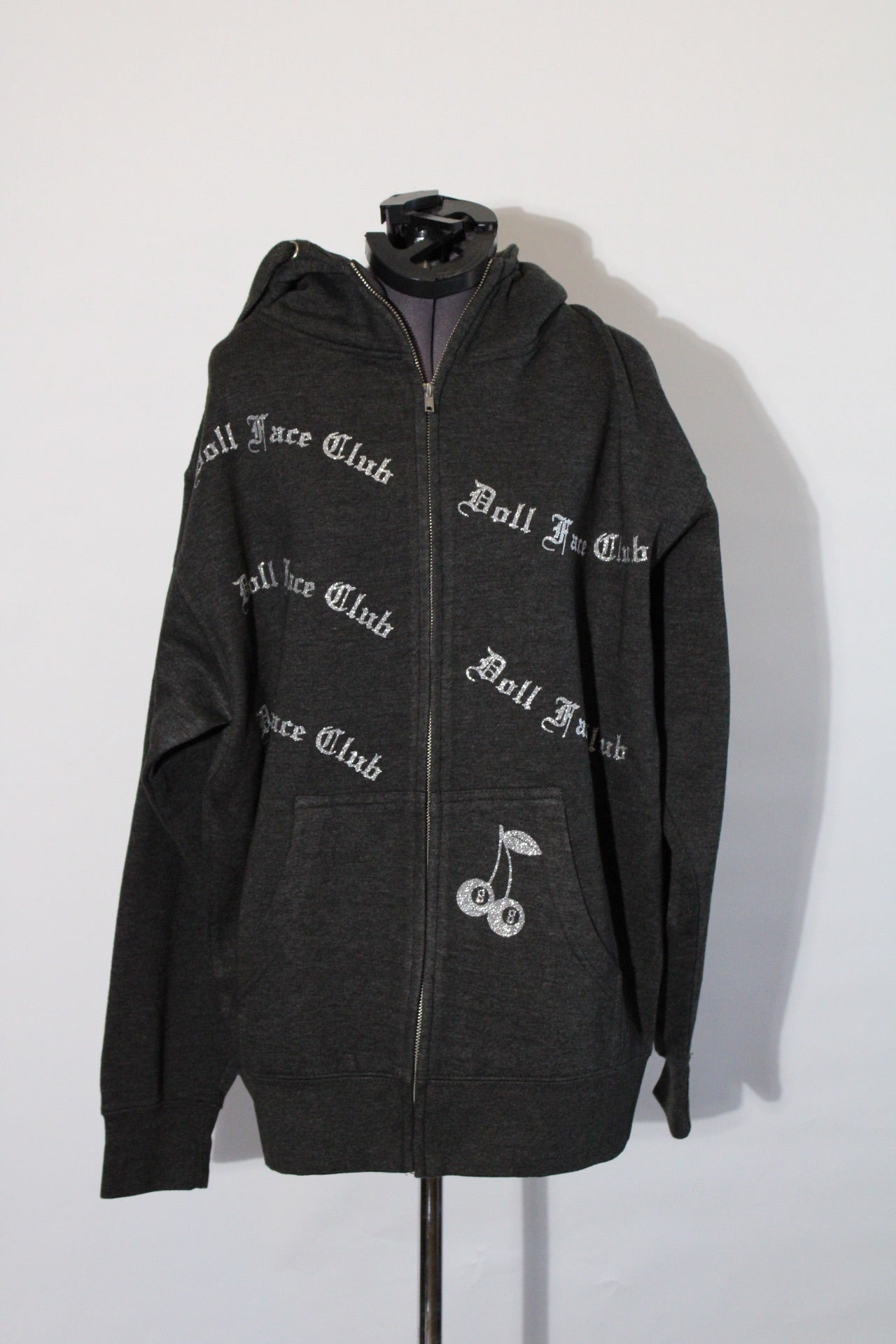 Charcoal Grey Zip Up