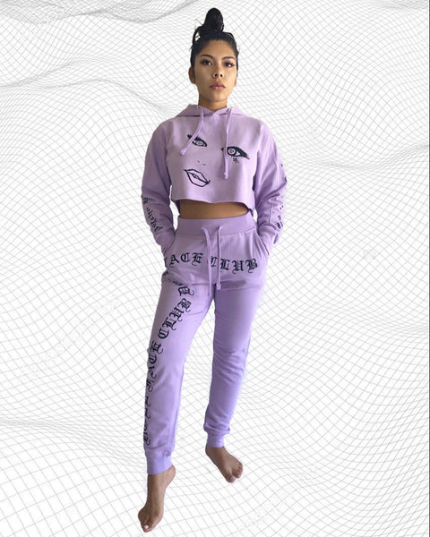 Psycho But Polite Lavender 2 piece
